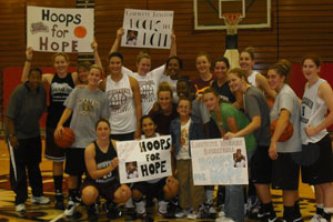 Lafayette Womens Basketball.JPG Lafayette Basketball Hoops for Hope