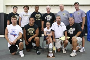 St Anthonys football New York 7-on-7 Championship