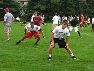 lfg football camp ohio LFG FOOTBALL CAMP AT OTTERBEIN RAISES MORE THAN $13000 FOR PEDIATRIC BRAIN TUMOR RESEARCH