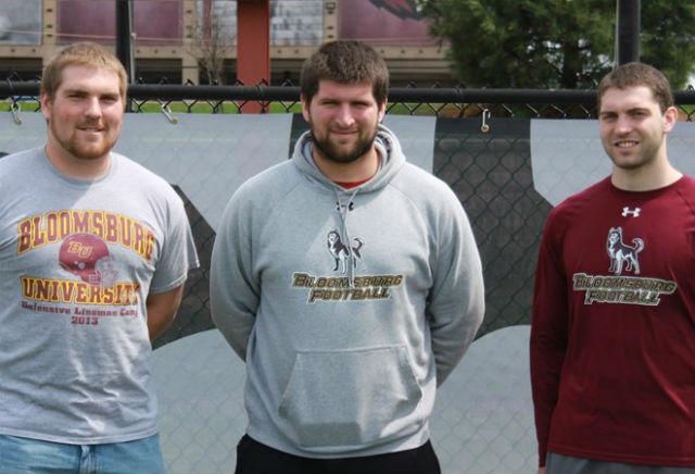 Bloomsburg Football  Players