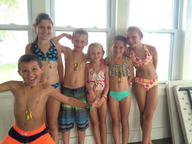 cousins campaign swimming kids